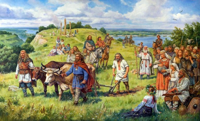 Земледелие, как отдельное мировоззрение. Украинские традиции, связанные с хлебом