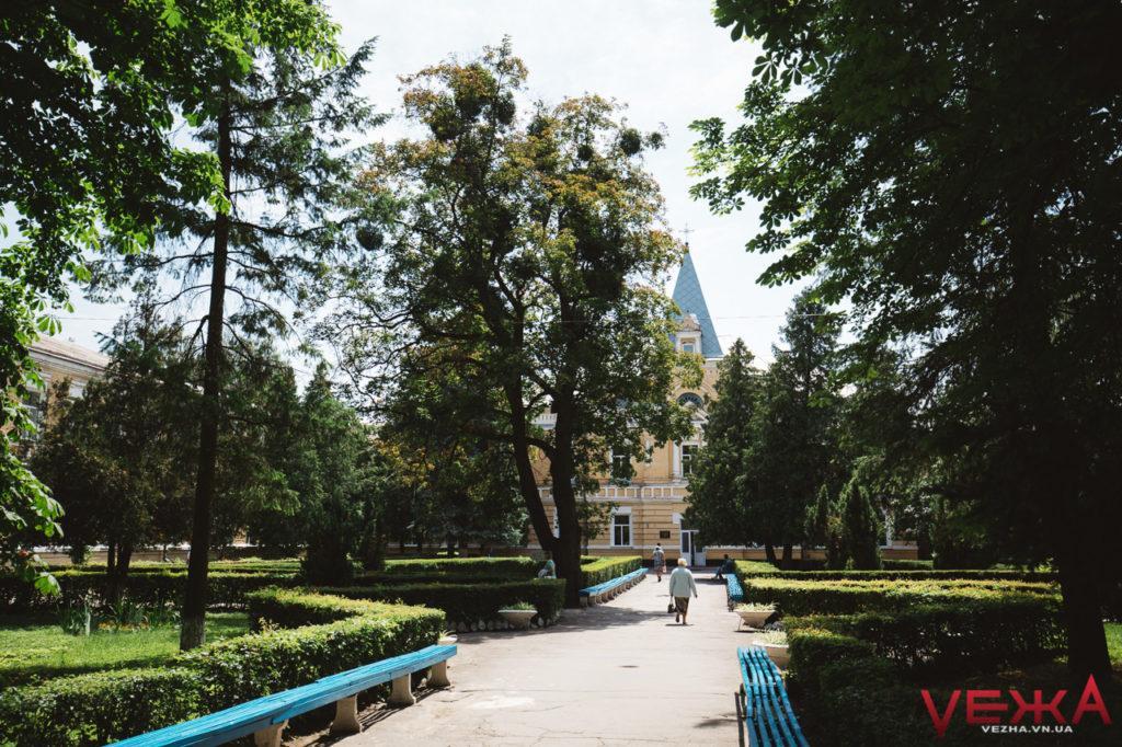Парк имени академика А. Ющенко, панорама на Буг