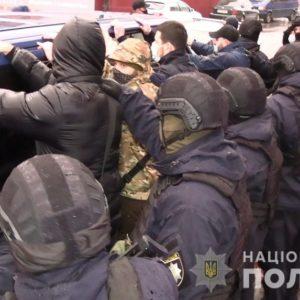 Группа вооруженных молодых людей из Киевщины хотела захватить магазин в Казатине в Винницкой области