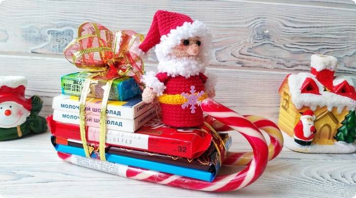 идеи сладких новогодних подарков своими руками