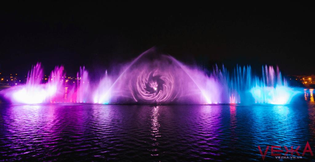 фонтан рошен расписание